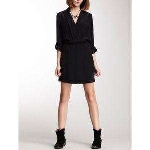 Amour Vert Regan Silk Wrap Dress